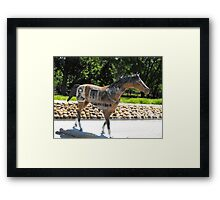 """""""Wanted""""  Framed Print"""