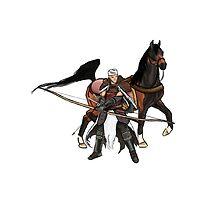 Samurai Horse Warrior by PaulYoder