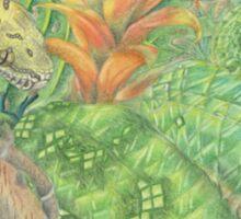 Emerald Tree Boa and Green Tree Python Sticker