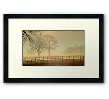 Christmas morning Yorkshire Framed Print
