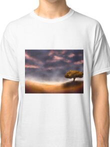 Countryside After Rainfall Classic T-Shirt