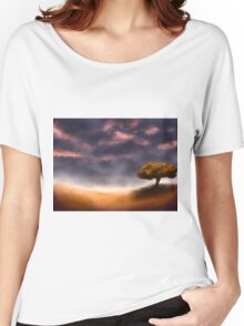 Countryside After Rainfall Women's Relaxed Fit T-Shirt