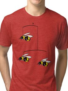 bumble-bee mobile Tri-blend T-Shirt