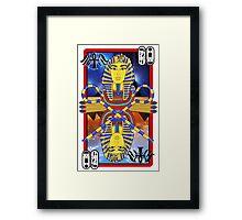 """""""Tutankhamun Tarot"""" Framed Print"""