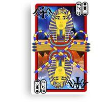 """Tutankhamun Tarot"" Canvas Print"