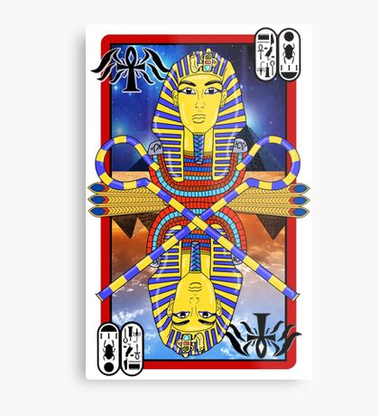"""Tutankhamun Tarot"" Metal Print"