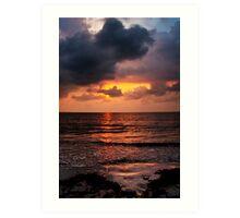 Sunrise in Caribbean Art Print