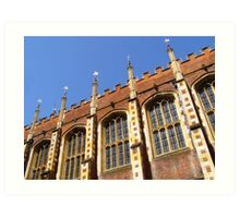 Hampton Court II Art Print