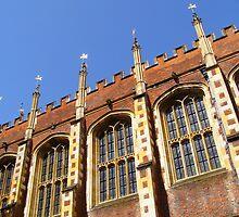 Hampton Court II by Linda Hardt