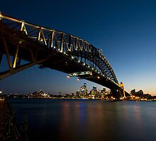 Sydney Harbour Bridge 2 by davecourt