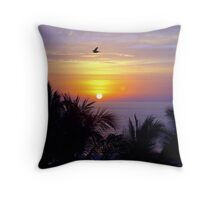 A Glorious Mexican Sunset Throw Pillow