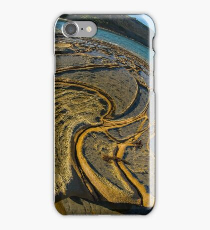Sea-Sick Rocks. iPhone Case/Skin