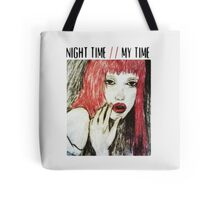 night time, my time. Tote Bag