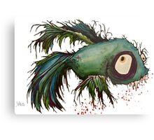 """ds"" the zombie betta fish Metal Print"