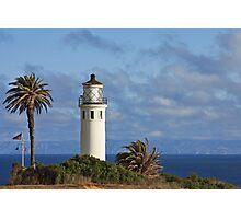 Point Vincente Lighthouse, CA Photographic Print