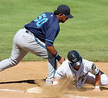 Sliding back to First Base by aussiedi
