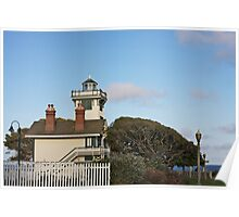 Point Fermin Lighthouse, CA Poster