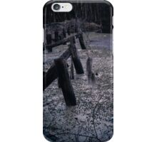 Old Bridge tressle at Brewington SC 2 iPhone Case/Skin