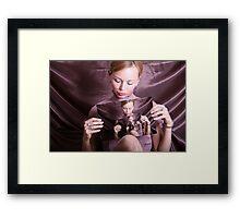 Self-exploration Framed Print