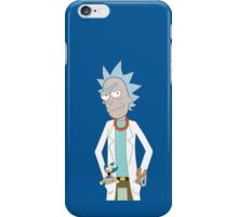 Rick and Morty/The Simpsons Crossover iPhone Case/Skin
