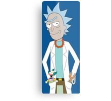 Rick and Morty/The Simpsons Crossover Metal Print
