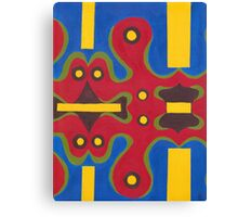 Red Doodle II Canvas Print
