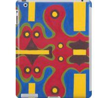Red Doodle II iPad Case/Skin