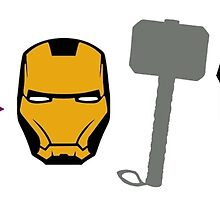 Avengers Symbols by MagicaDesigns