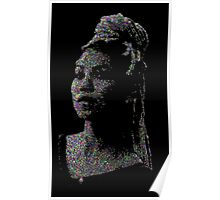 Jhene Dot Art Poster