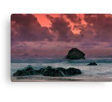 Big Sur Sunset Storm Canvas Print