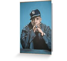 Jay Z Greeting Card