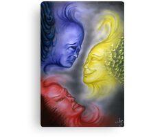 Emotional Primaries Canvas Print