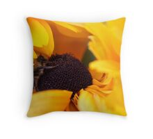 Framed (In Yellow) Throw Pillow
