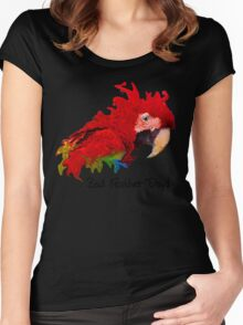 Bad Feather Day! Women's Fitted Scoop T-Shirt