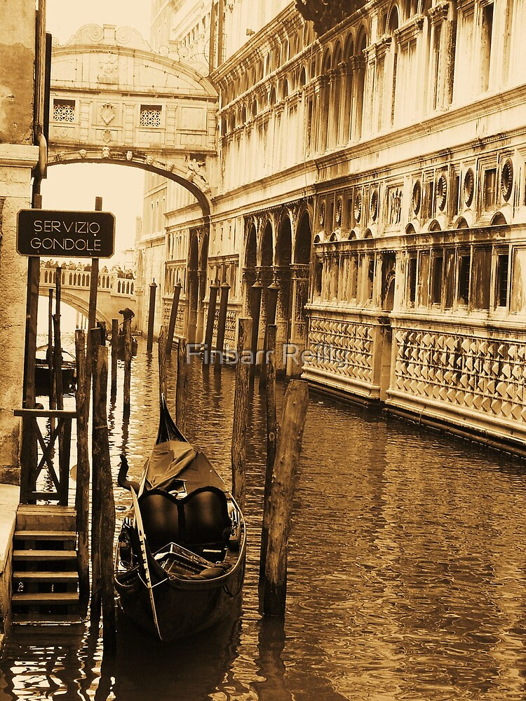 Vintage image of Venice. by Finbarr Reilly