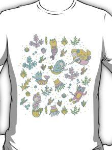 Mermaids & cats T-Shirt