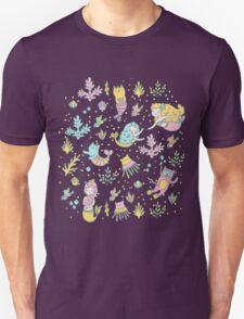 Mermaids & cats Unisex T-Shirt