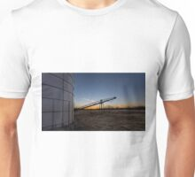 Manure stacking a sunset Unisex T-Shirt