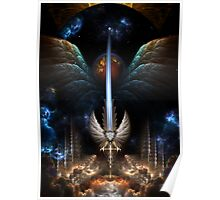 The Angel Wing Sword Of Arkledious Imperial Wings Poster