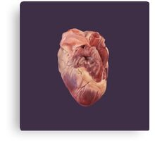 Heart (of a pig!) Canvas Print