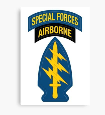 Special Forces Canvas Print