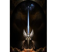 The Angel Wing Sword Of Arkledious Photographic Print