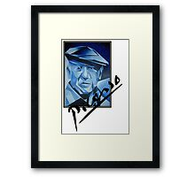 Picasso's Signature Framed Print