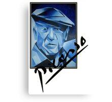 Picasso's Signature Canvas Print