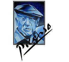Picasso's Signature Photographic Print