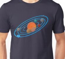Pixel Planet Solar System T-Shirt
