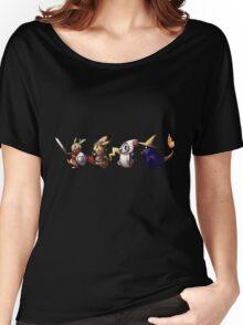Final Fantasy Pokemon Women's Relaxed Fit T-Shirt