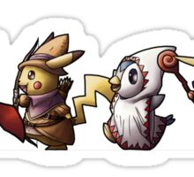 Final Fantasy Pokemon Sticker
