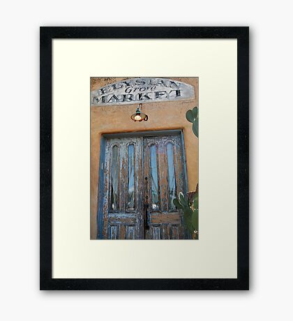 Front and Centered Framed Print
