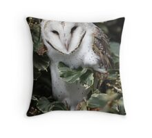 The Owl That Came to Work Throw Pillow
